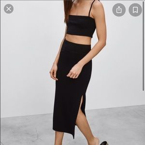 Wilfred Free NWT Shields Skirt